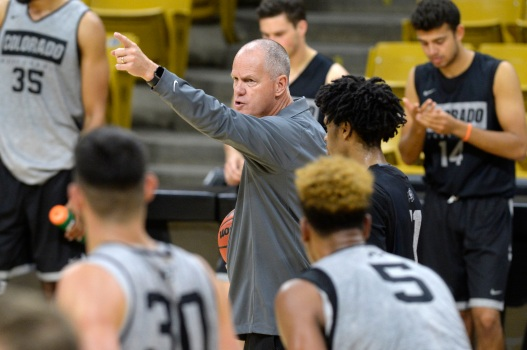 CU men's basketball picked second in Pac-12 preseason poll