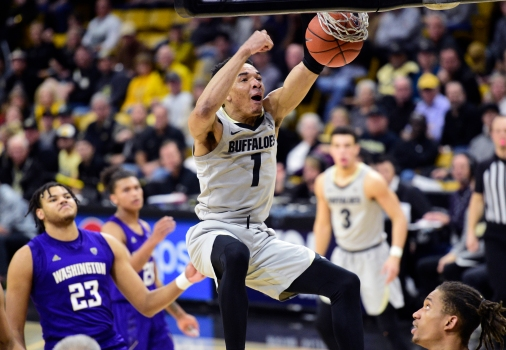 No. 23 CU Buffs complete first Pac-12 sweep of season by topping Washington