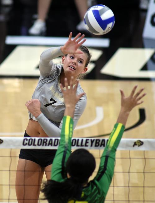 Alexa Smith Brynna Deluzio Earn All Region Honors For Cu Volleyball Buffzone